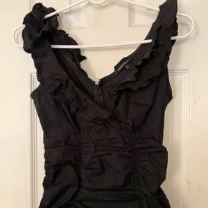 Gorgeous Nanette Lepore black top!